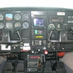 Cessna C206 panel
