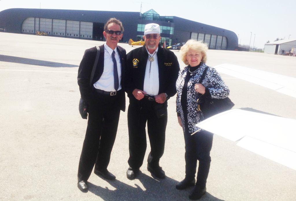 George Odell, Ken Aziz & Elizabeth Domonkos
